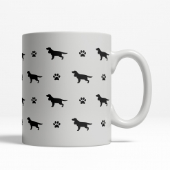 English Cocker Spaniel Silhouette Coffee Cup