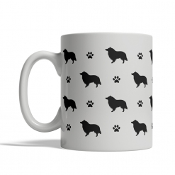 Collie Silhouettes Mug