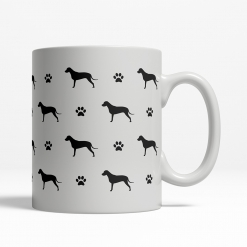Dalmatian Silhouette Coffee Cup