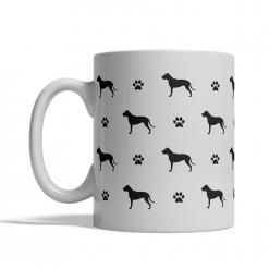 Dogo Argentino Silhouettes Mug