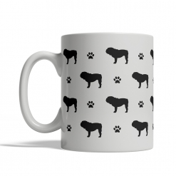 English Bulldog Silhouettes Mug