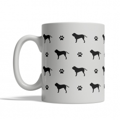 English Mastiff Silhouettes Mug