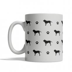 English Mastiff Silhouettes Mug