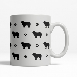 Komondor Silhouette Coffee Cup