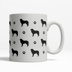 Leonberger Silhouette Coffee Cup