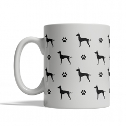 Mexican Hairless Dog Silhouettes Mug