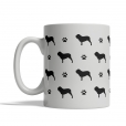 Neapolitan Mastiff Silhouettes Mug
