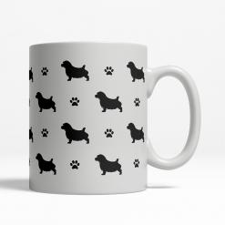 Norfolk Terrier Silhouette Coffee Cup