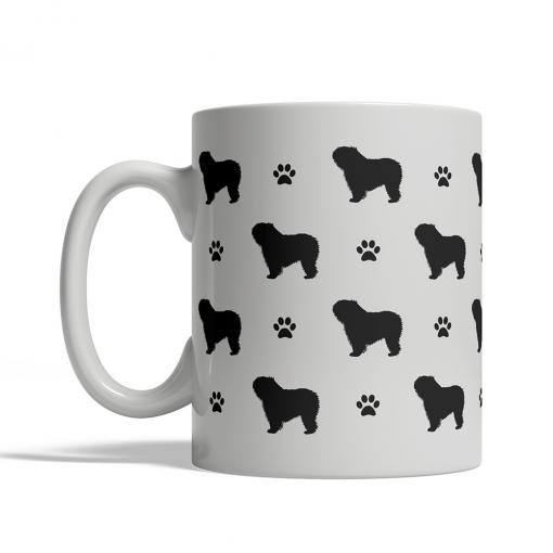 Polish Lowland Sheepdog Silhouettes Mug