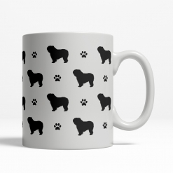 Polish Lowland Sheepdog Silhouette Coffee Cup