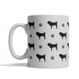 Pug Silhouettes Mug