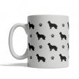 Pyrenean Shepherd Silhouettes Mug