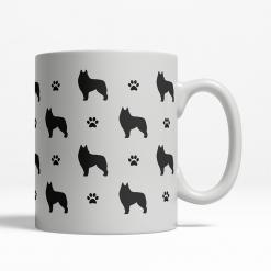 Schipperke Silhouette Coffee Cup