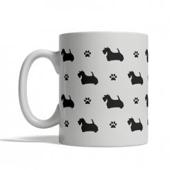 Scottish Terrier Silhouettes Mug