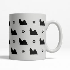 Shih Tzu Silhouette Coffee Cup