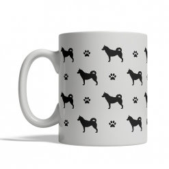 Siberian Husky Silhouettes Mug