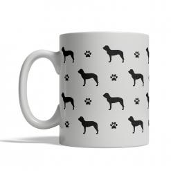 Spanish Hound Silhouettes Mug