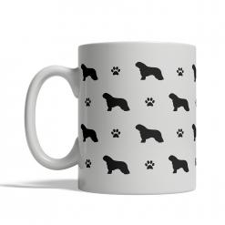 Spanish Water Dog Silhouettes Mug
