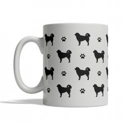 Tatra Shepherd Dog Silhouettes Mug