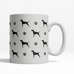 Vizsla Silhouette Coffee Cup