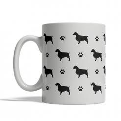 Welsh Springer Spaniel Silhouettes Mug