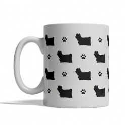 Yorkshire Terrier Silhouettes Mug