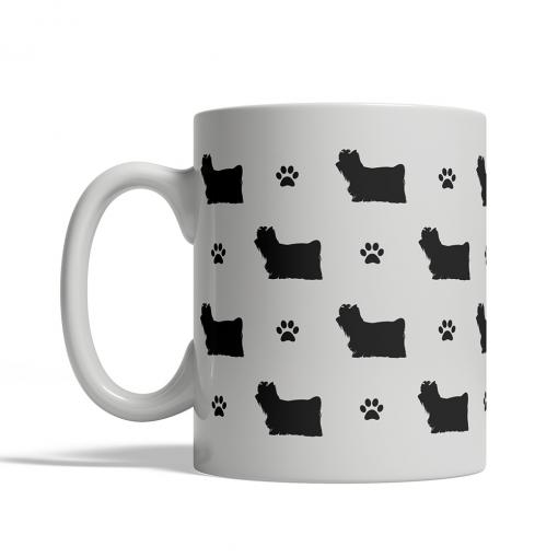 Yorkshire Terrier Silhouettes Mug