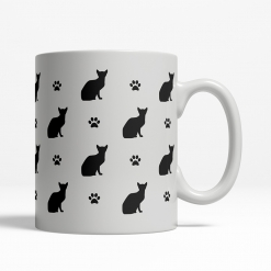 Abyssinian Silhouette Coffee Cup
