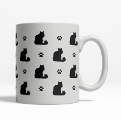 Norwegian Forest Silhouette Coffee Cup