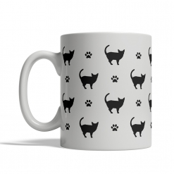 Siamese Silhouettes Mug
