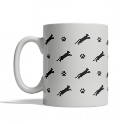 Chartreux Silhouettes Mug