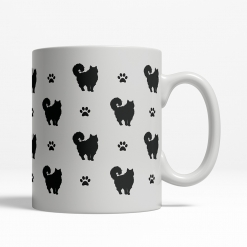 Ragdoll Silhouette Coffee Cup