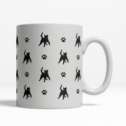 Snowshoe Silhouette Coffee Cup