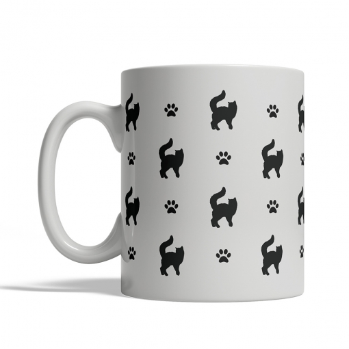Turkish Van Silhouettes Mug