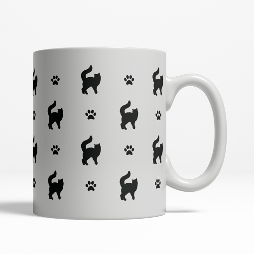 Turkish Van Silhouette Coffee Cup