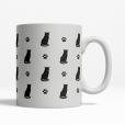 Tuxedo Silhouette Coffee Cup