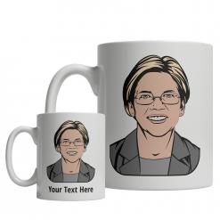 Elizabeth Warren custom mug