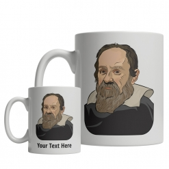 Galileo Galilei custom mug