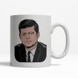 John F. Kennedy coffee cup