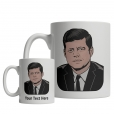 John F. Kennedy custom mug
