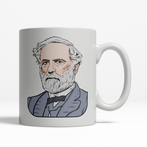 Robert E. Lee coffee cup