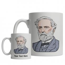 Robert E. Lee custom mug