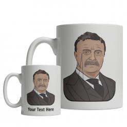 Theodore Roosevelt custom mug