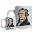Alexander Hamilton custom mug