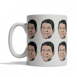 Ronald Reagan Coffee Cup