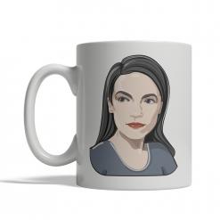 Alexandria Ocasio-Cortez Coffee Cup