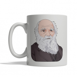 Charles Darwin Coffee Cup