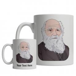Charles Darwin Custom Mug