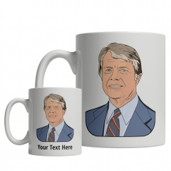 Jimmy Carter Custom Mug