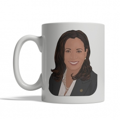 Kamala Harris Coffee Cup